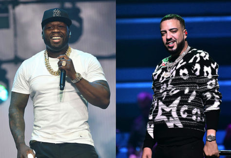 50 Cent Clowns French Montana's New Bugatti, French Calls Him a Dinosaur