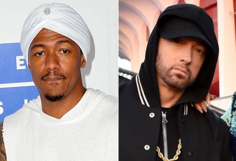 Nick Cannon Takes Aim At Eminem & His Fans On Latest Diss Track